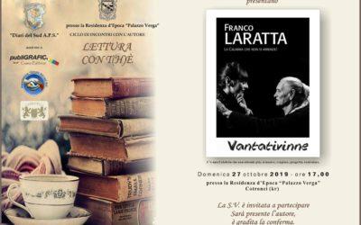 Franco Laratta presenta il suo libro a Cotronei.